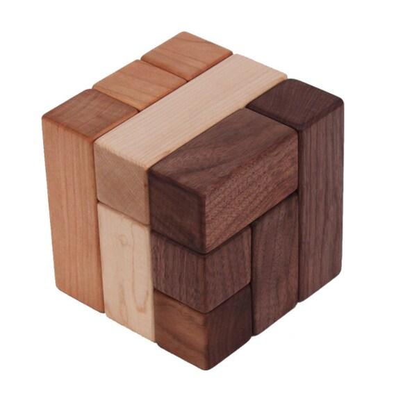 Wooden Blocks, Building Black Set- Mixed Woods