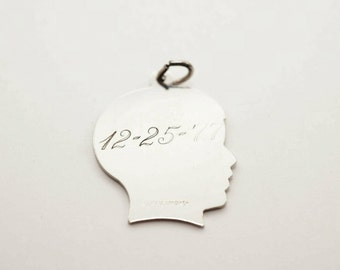 Vintage Sterling Silhouette Charm