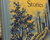Enchanting Stories 1957 reading book giants fairies brownies school reader winston co illustrated children book chapter reading