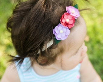 SALE **Trio Flower Headband