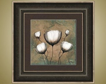 PRINT or GICLEE Reproduction -- Tulip Art, Flower Art, Modern Flower -- The Lady of the House