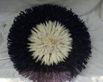 Dark Blue and White Juju Hat (30 inch)