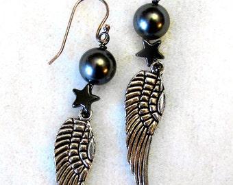 Starwings earrings