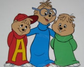 Original Alvin and the Chipmunks Cel + 1985 Flintstone Calendar from Bill Hanna & Joe Barbera