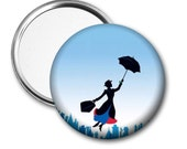 Mary Poppins Pocket Mirror
