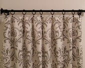 Two Curtain Panels Grey Traditions Your Choice