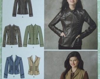 Misses Jackets Sizes 6 8 10 12 14 Simplicity Pattern 2341 UNCUT