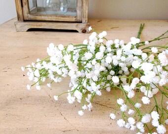 Babys Breath Silk Flowers Artificial Plant Flower Floral Stem Fake