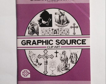 CHRISTIAN CLIP ART and Symbols, for Reproduction -- Crafts, Books, Banners, or Your Church Project