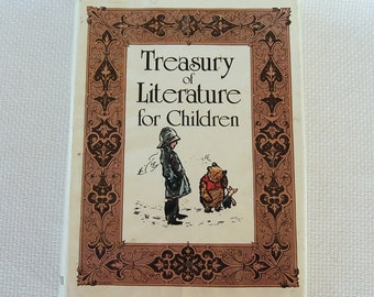 Vintage Treasury of Literature for Children 414 pages Hardcover Hamlyn Publishing Third Impression circa 1984 ISBN 0600388867