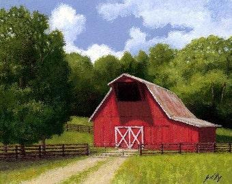 Red Barn in Franklin TN