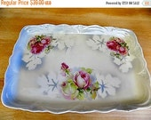 Antique Lusterware Vanity Tray - Cottage Chic Serving - Home Decor - Germany