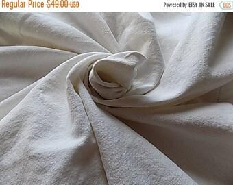 Antique Linen Tablecloth - HUGE - Cottage Chic Paris Apartment