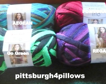 Red Heart - Sashay Yarn - Assorted Colors & Styles - 24 Of Each Color Available  - CONTACT 4 AVAILABLE AMOUNTS - New - Same Dye Lots