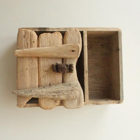 Driftwood Wall Cabinetdriftwood Bathroom By Juliasdriftwood