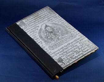 White Buddha handmade paper Journal