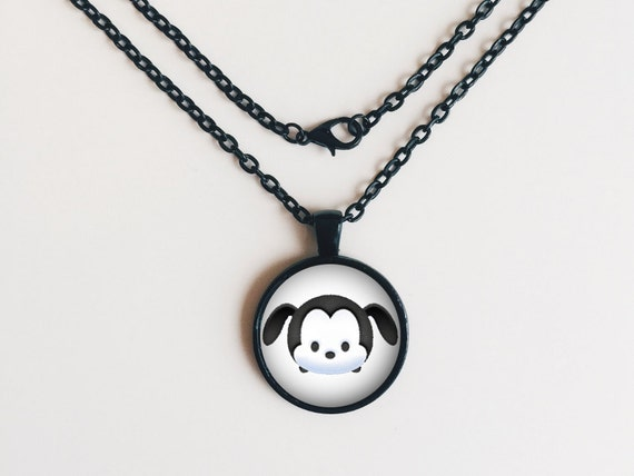 Oswald the Lucky Rabbit Tsum Tsum Necklace or Keychain