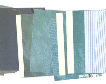 "One-of-a-Kind 3"" x 4"" PAPER pack - 10 pc. - BLUE"