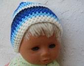 Wool Beret Unisex ,Crochet Caps unisex for children,Crochet Beanie's Pompom