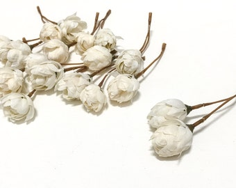 Artificial IVORY Hops Blossoms - Artifial Flowers, Silk Flowers, Flower Crown