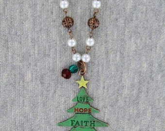 "Believe in Christmas 30""  Necklace"