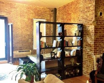 "Pair of 20"" Narrow Bookshelves"