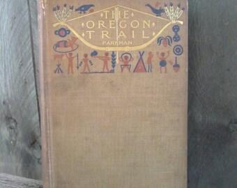 The Oregon Trail - vintage book