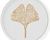 Instant download,Free shipping,Cross stitch pattern,vintage pattern, ginkgo leaf ,zxxc0900