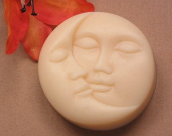 sun & moon soap/ glycerin soap/ scented in citrus berry/handmade soap