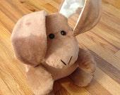 Brown rabbit - stuffed animal