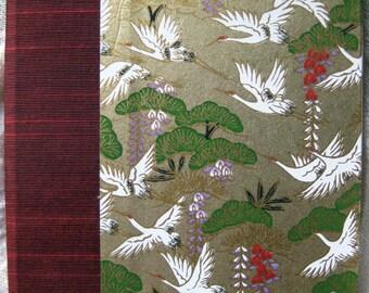 Handbound Cranes Address Book