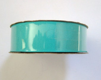 "Brand new Offray 7/8"" (22mm) wide Calypso grossgrain ribbon--18 feet"