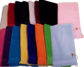 Custom Embroidered Golf Towel, Sport Towel, Gift