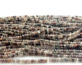 40% ON SALE WHOLESALE 5 Pcs Andalusite Beads, Faceted Brown Andalusite Rondelle, Aaa Gems, Wholesale Price, 3.5-4mm Each, 14 Inch Strand