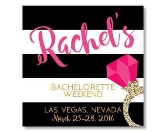 Bachelorette Sticker, Bachelorette Party Sticker, Bachelorette Bag Sticker, Hangover Sticker, Hangover Kit Sticker, Hangover Bag Sticker