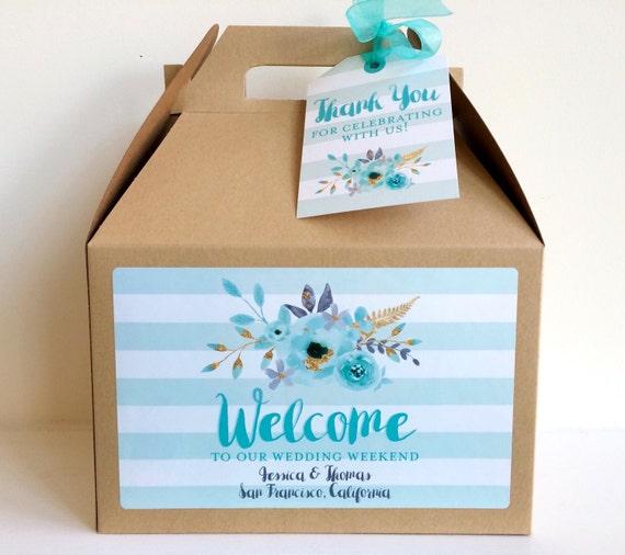 Welcome Bag, Wedding Welcome Bag, Wedding Welcome Box, Wedding