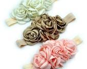 Flower Petal cozette couture headband