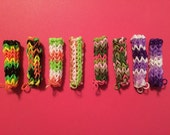 CUSTOM LISTING for Jessica W. - 8 Rainbow Loom Pencil Grips