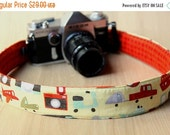 final CLEARANCE Camera Strap for DSLR - Crossbody, Reversible, Quick Release - Cameras and Transportation - Ready to Ship