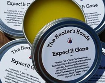 Expect It Gone ~ Expectorant ~ Therapeutic Aromatherapy ~ 2 oz Screw Top Tin ~ Reiki Enhanced