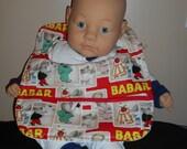 Babar the Elephant Baby Bib