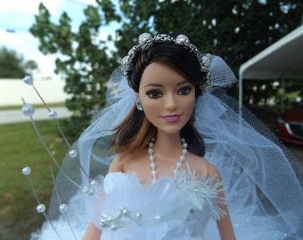 Bridal shower/centerpiece/Barbie doll