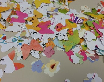 Butterfly Flower Confetti Sweet Mix Over 650 Punches - Rippy Bits by TangoBrat