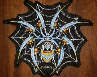 Steampunk Spider Patch