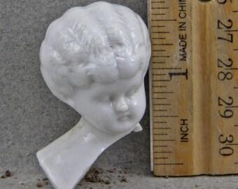 Vintage German   Porcelain Doll Head