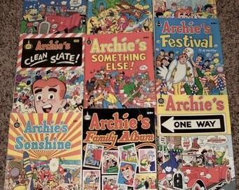 Vintage - Archie's Comic Books (9)  Spire - by Al Hartley