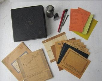 ON SALE SALE Antique Gem Postcard Duplicator - Bond Equipment Co - Advertising & Graphic Design History