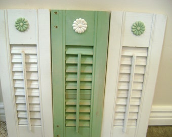 Darling Vintage Shabby Chic Shutter Decoration