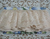 Lace Ruffles Off-White 4+ Yards