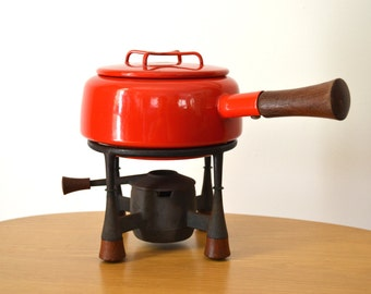 DANSK IHQ Kobenstyle Red Fondue Set